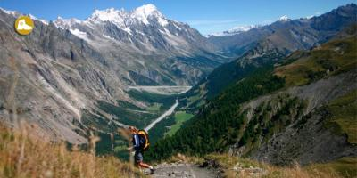 Italy, Switzerland, France - Alps, Tour of Mont Blanc